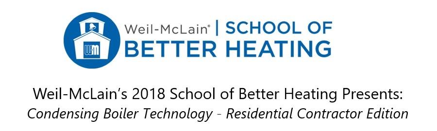 School of Better Heating | Weil-McLain