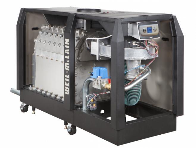 Weil-McLain SlimFit high efficiency condensing boiler