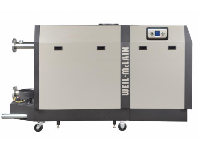 Weil-McLain SlimFit 1,000-2,000 MBH high efficiency commercial boiler