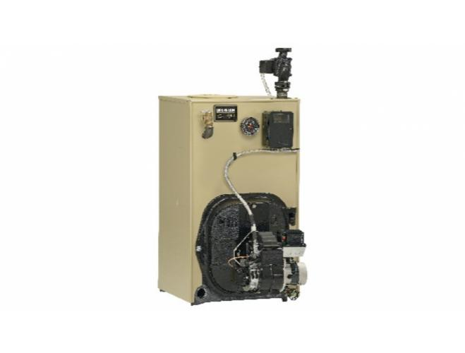 WGO residential oil fired boiler