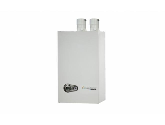 AquaBalance residential high efficiency gas wall mount boiler