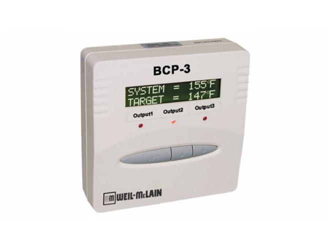 BCP-3 hydronic multi-stage boiler control