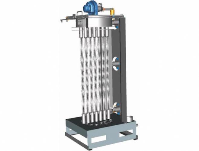 Weil-McLain SVF 750-1100 stainless steel vertical firetube boiler
